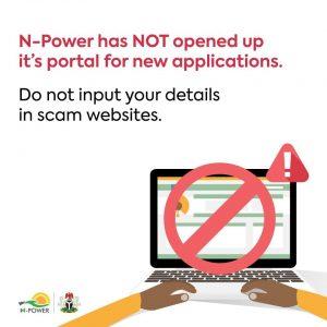 N-Power Warned Against Fake N-Power Recruitment Website | Npower
